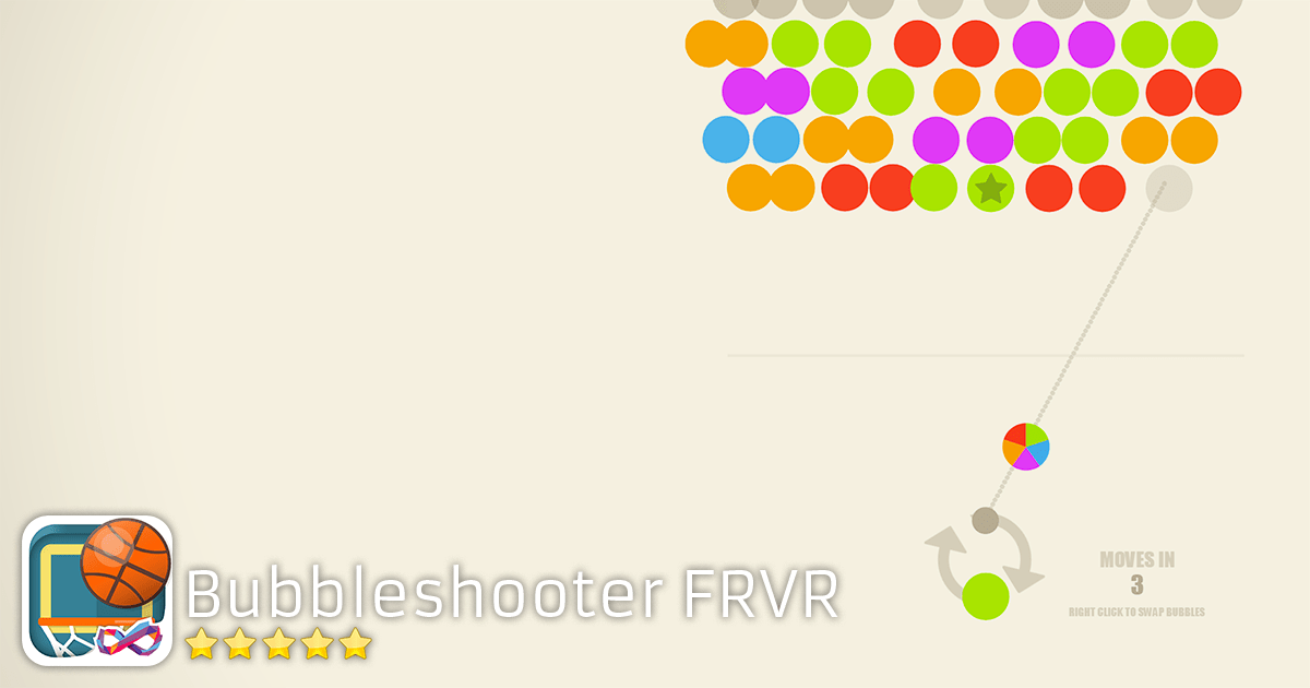 Play Bubble Shooter FRVR - Aim and Pop Blaster